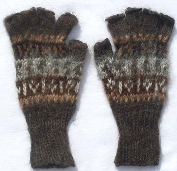 handschuhe aus alpakawolle lama nativo. Black Bedroom Furniture Sets. Home Design Ideas