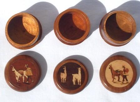 Schmucke Holzdose