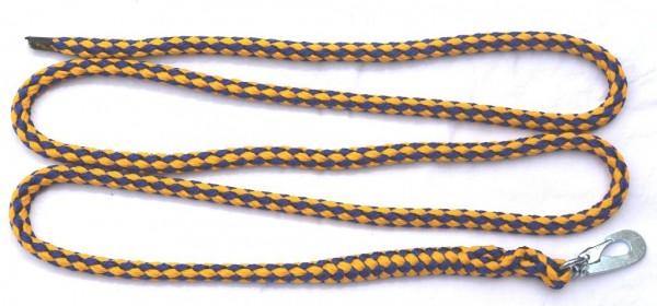 Führleine für Lamas und Alpakas gelb-blau