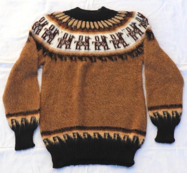 Pullover Kuschel aus Alpakawolle M