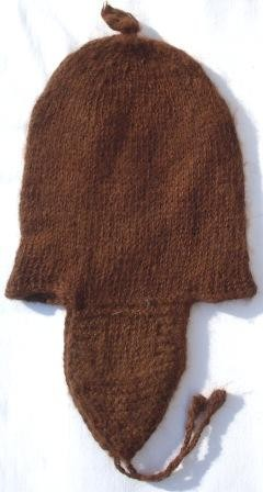 Alpaka Mütze Peru 50 cm bis 60 cm