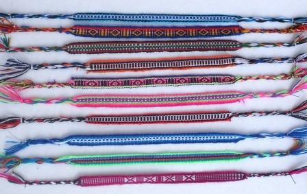 Freundschaftsband 3046 Design Südamerika