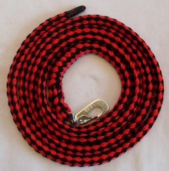 Leine rot-schwarz