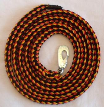 Leine schwarz-rot-gelb
