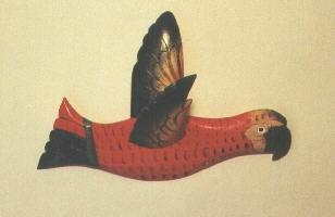 8431 Wandflieger rot