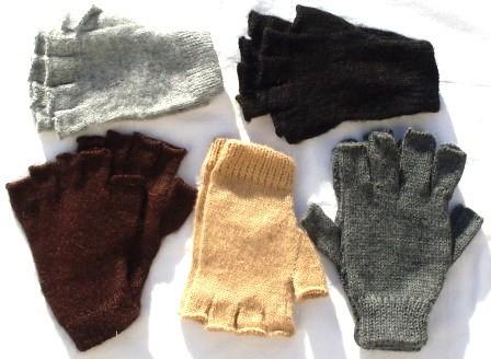 Handschuh, einfarbig, Größe S
